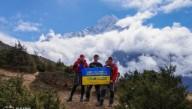 Трое украинских альпинистов покорили Эверест