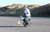 Моноцикл с электроприводом