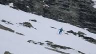 Горный гид спустился на лыжах с двух сторон Маттерхорна