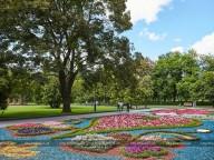 В харьковском саду Шевченко создают трехъярусное озеро