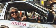 Пенсионерка проехала 12 тыс. км на стареньком авто