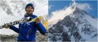 Горнолыжный спуск с вершины горы К2