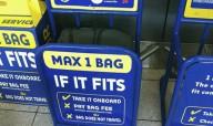 Ryanair ужесточает правила провоза ручной клади
