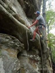 На скалах Довбуша появились новые маршруты