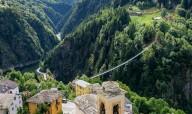 Достроен самый высокий подвесной мост в Европе