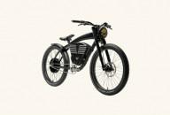 Классический электровел и велосипед под мотоцикл