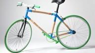 Велосипед из травы