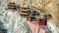 В Китае для туристов вновь открыли Висячий монастырь