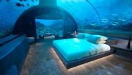 На Мальдивах предлагают поспать среди рыбок