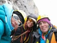 Международная женская альпинистская тройка открыла маршрут
