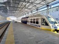 Поезд в аэропорт Борисполь совершил первый рейс