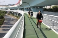 Самый длинный велосипедный мост в мире