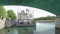 В Париже откроется первый в мире плавучий арт-центр