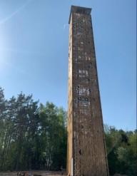 Самая высокая обзорная башня Литвы откроется летом