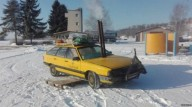 Эстонцы превратили старое авто в сауну