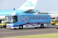 KLM запустила бесплатный автобус в аэропорт Амстердама