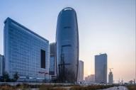 В Пекине вырос небоскреб с самым высоким в мире атриумом