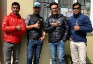 Шерпы-альпинисты совершат рекордное восхождение на Эверест