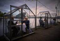 Ресторан Амстердама защитит гостей от COVID-19