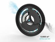 Изобрели велосипедное колесо, которое очищает воздух