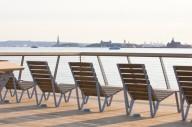 На реке Гудзон в Нью-Йорке открыли экологичный пирс