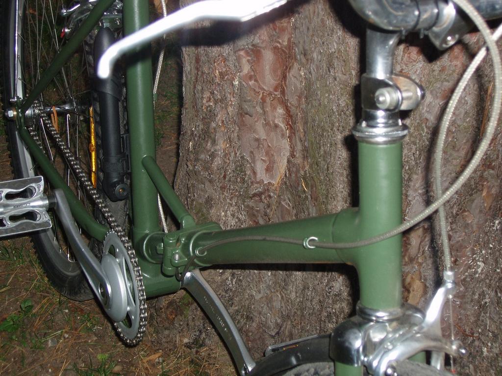 Тюнинг велосипедной рамы.