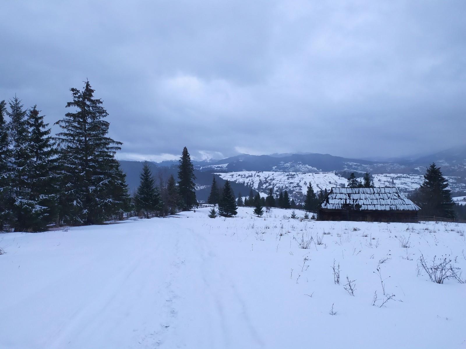 Зимовий хребет Кукул