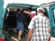 Поход с детьми по Сев.Донцу с 26июня по 4 июля 2010г.