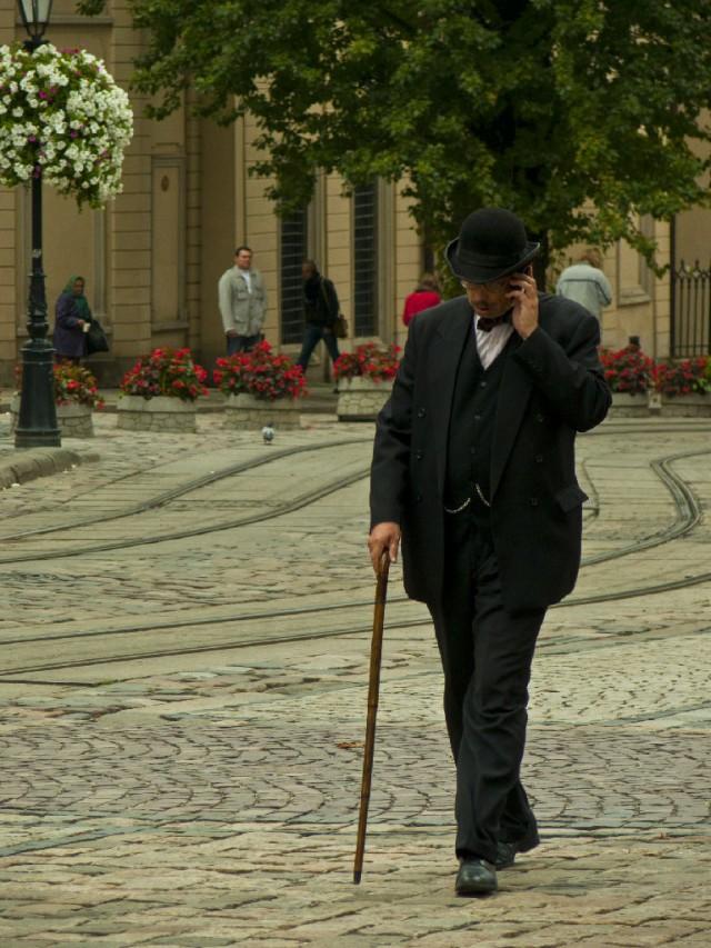 Местный житель Трускавца