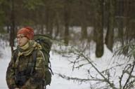 Следы зверей на снегу. Малиновка-Эсхар