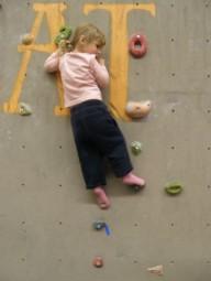 Скалолазно-детская тренировка