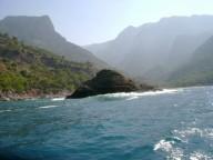 Средиземное море Koycegiz- Kalkan на байдарке.