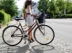 Копенгаген: девушки на велосипедах