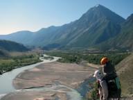 Фильм с пеше-горного похода на Алтай.