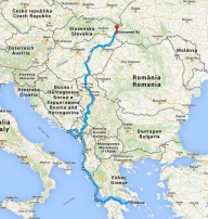 Балканское велопутешествие