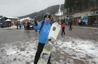 Сноубординг в Буковеле 2017