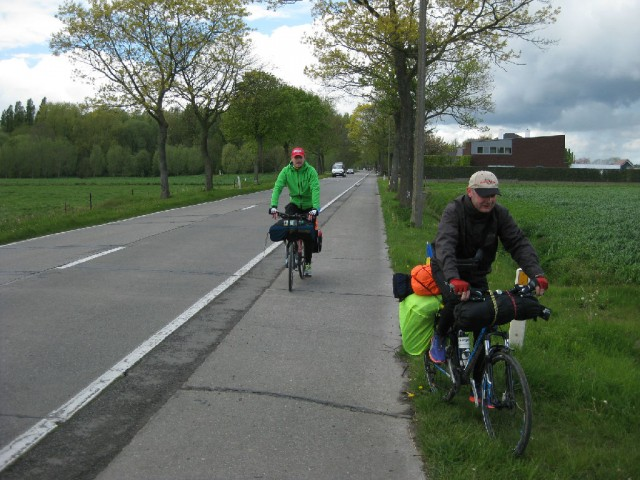 Велопоход Нидерланды — Бельгия