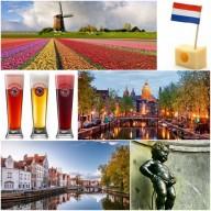 вело Нидерланды - Бельгия, апрель 2017