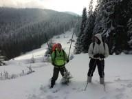 Зимова прогулянка на Кукул - Кострича
