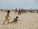 Подышали солнцем, посмотрели на ветер, искупались в песке и походили по воде.