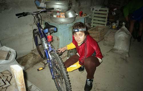 Дом механика - в гараже